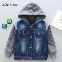 winter coat kids Baby softshell jacket kids Toddler Boys Autumn Winter Hooded Coat Cloak Jacket Outwear Clothes freeshipping(China)
