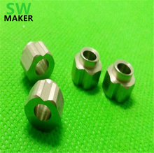 SWMAKER Openbuilds OX CNC stainless steel slotted nut six eccentric angle eccentric nut Eccentric Spacer 6mm(China)
