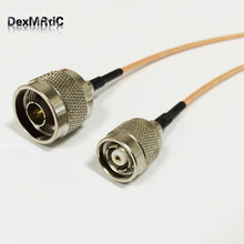 "RF Wireless Antenna Cable With RP TNC Male plug Reverse Switch N Type Male RG316 15cm 6""(China)"
