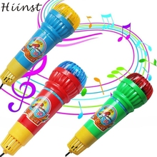 HIINST Modern Echo Microphone Mic Voice Changer Toy Gift Birthday Present Kids Party Song Drop Shipping Jan13