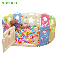 Indoor Kids Playpens Outdoor Baby Play Fence for Kids Activity Gear Environmental Protection EP Safety Play Yard(China)