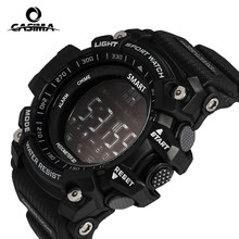 New Sport smart watch buzzer sound alarm sport monitor IP67 waterproof burned calory men watch remote camera watches CASIMA EX16(China)