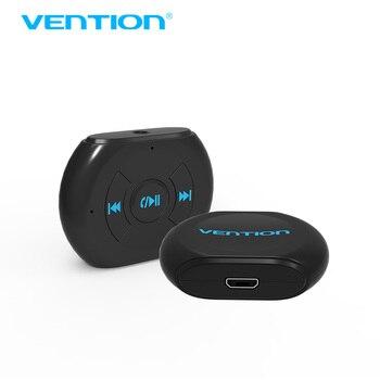 Конвенция Беспроводной Автомобильный Bluetooth 4.1 Приемник Адаптер 3.5 ММ AUX Аудио Дома Музыки громкой Автомобильный Bluetooth с Микрофоном