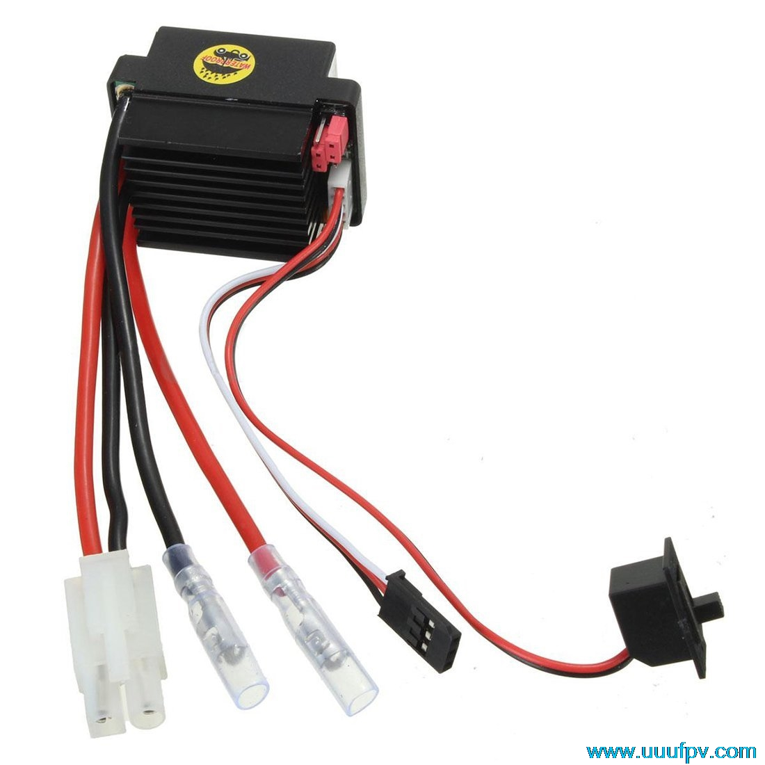 HSP HPI 320A ESC Brushed Electric Speed Controller 3S High Voltage Waterproof RC Car Boat Airplane HSP Truck Buggy Car