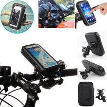 Waterproof Case Bike Phone Mount Mobile Cell Phone Holder for iPhone X 8 Plus 7 PlusGalaxy S8 S8 Plus S7 Edge Note 8(China)