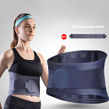 New Steel medical Braces Therapy Posture Waist Belt Adjustable fitness waist protector lumbar support Lower Back Pain Relief(China)