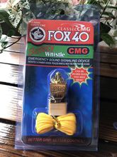 Free Shipping E-PLATING Colorful Double Blister Packing  Fox 40 Whistle With CMG mouthpiece and lanyard Whistle