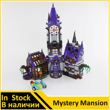 Original BELA 10432 Compatible Scooby Doo Figures Mystery Mansion 75904 Building Bricks Educational Toys For Children