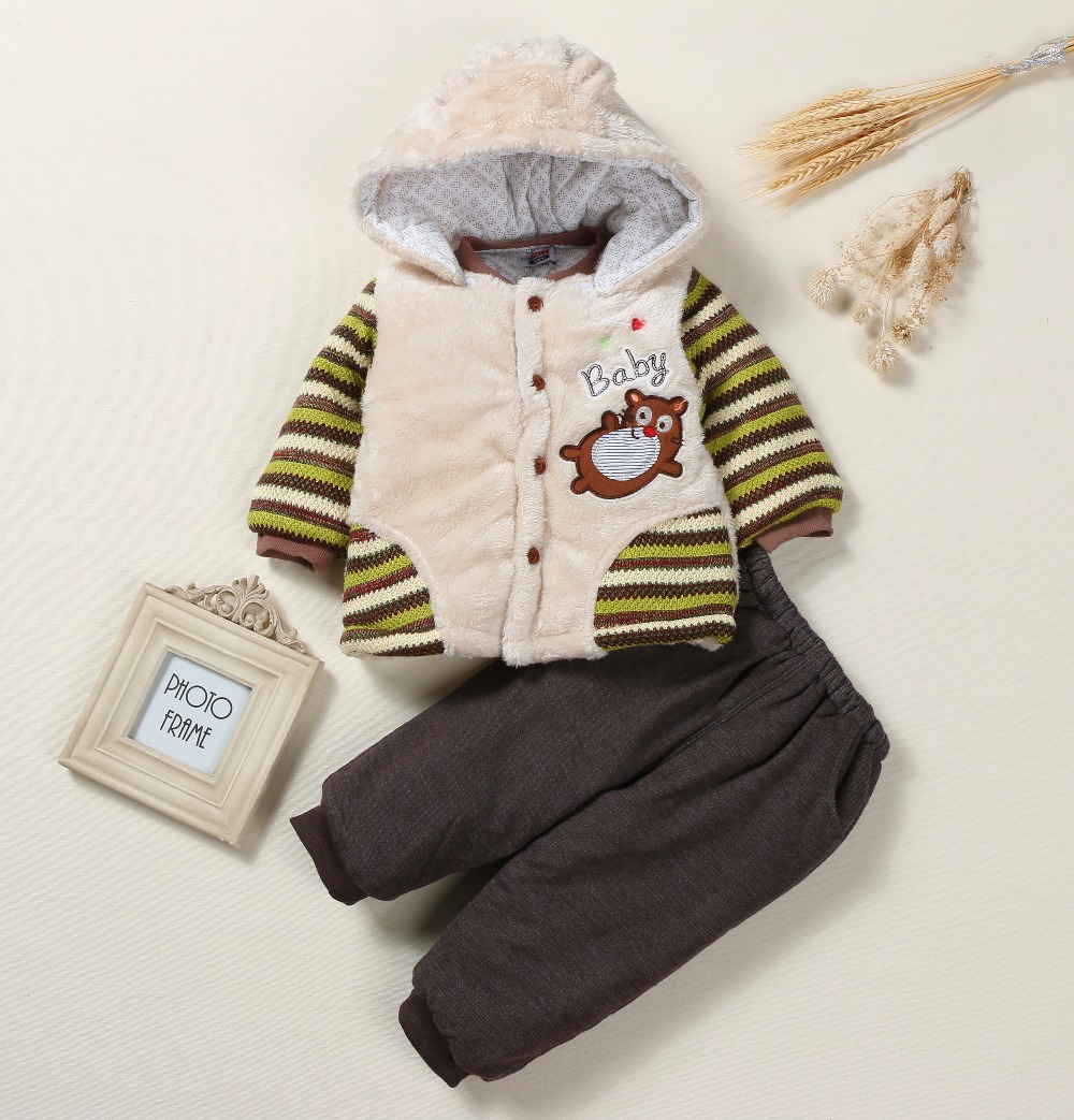 2017 winter  Infant clothes set Baby Boys Girls Hoodie   Clothing Baby cartoon  Baby fleeces hoody  free shipping<br>