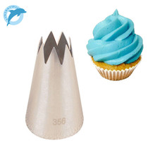 LINSBAYWU #356 Cake Decorating Tool Big Icing Piping Cream Nozzles Bakeware Pastry Tips