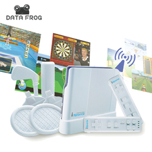 Data Frog Wireless Interactive TV Vidoe Game Player 16 Bit Games Console Parent-child Family Interaction Body Feeling Sports Fun