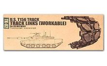 Trumpeter Scale military models TK-02 K1/M1/M1A1 main battle tank T156 movable link crawler