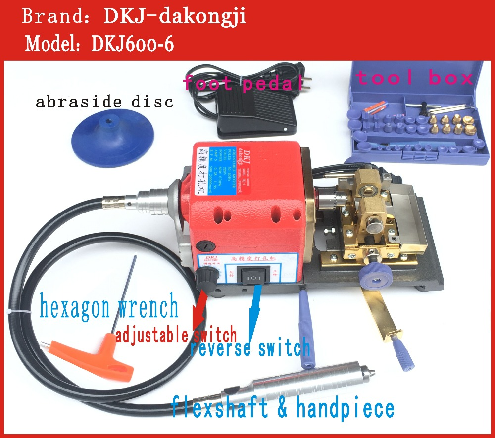 New Arrival!! 680W/220V Super High Power Red Color Pearl Drilling/Holing Machine