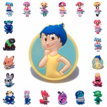 1pcs Inside Out Lalaloopsy PVC Anime Brooch Pins Badge Cartoon Icon Button Badges for Woman Kids gift Backpack Clothes Hat Decor(China)