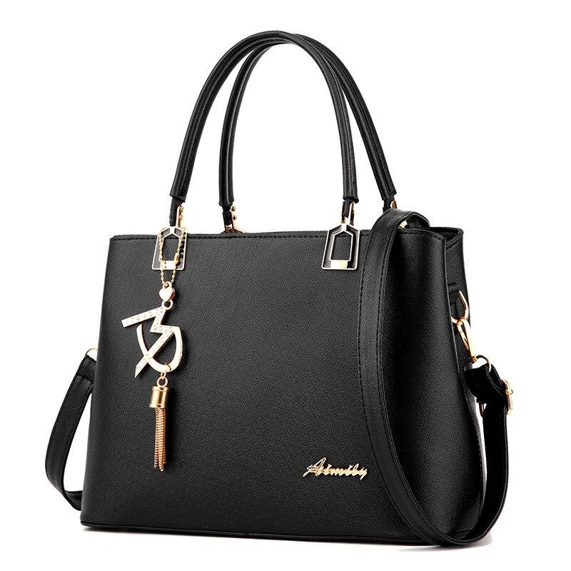 New 2017 Women Bag Luxury Leather Handbags Fashion Women Famous Brands Designer Handbag High Quality Brand Female Shoulder Bags<br><br>Aliexpress