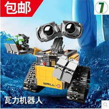 Hot sale Lepin 16003 Idea Robot WALL E Building Set Kits Bricks Blocks Bringuedos 21303 687pcs Toy boy gift free shipping