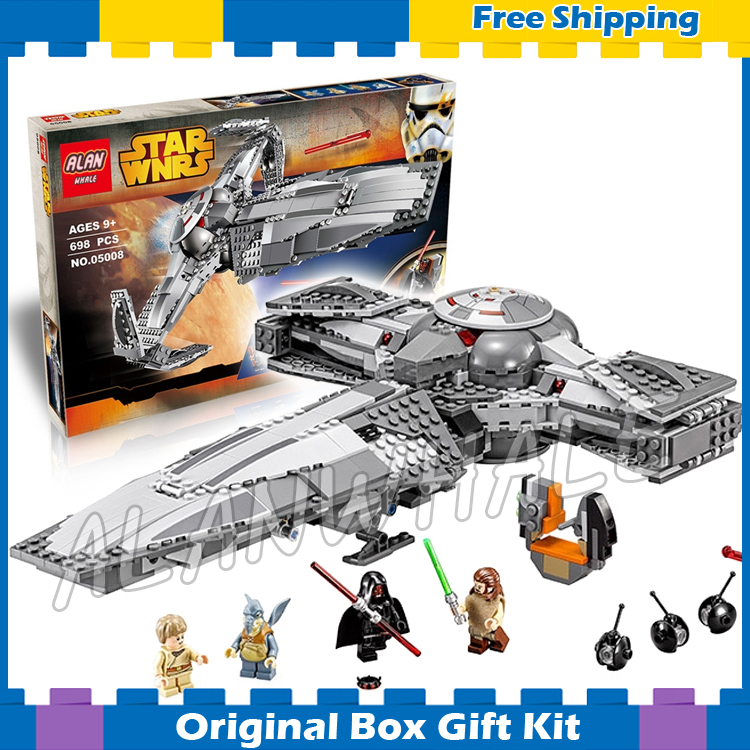 698pcs Bela 05008 New Star Wars Sith Infiltratortm Model Building Sets Bricks Compatible With Lego<br><br>Aliexpress