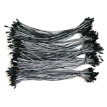 500pcs RC servos extension Lead wire extention cable 26AWG 300mm 2Pin 2P Dupont Housing Wire white and black Free shipping