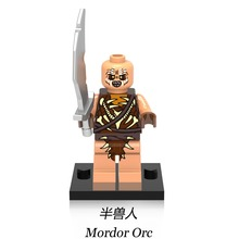 Gundabad Orc Lord of the Rings DIY Blocks Single Sale Battle of Five Armies Models Building Toy gift for Kids DIY Toys XH478