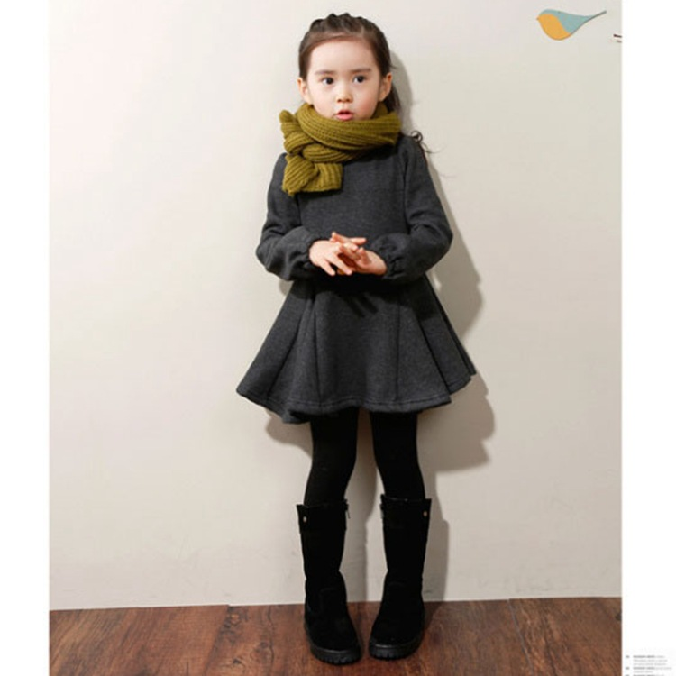 Sweet Girl Winter Princess Dress Kid Clothes Underskirt<br><br>Aliexpress