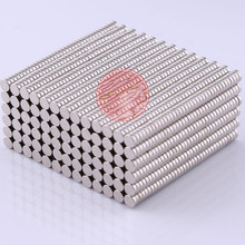 100pcs D3*1mm Super Powerful Strong Rare Earth Neodymium Magnets Round Dia 3mm*1mm Magnetic Tape For Crafts Teaching Magnetite
