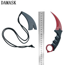 Damask Brand New Arrival CSGO Counter Strike Hunting Knives Fine Quality Stainless Steel Outdoor Karambit Knife Hot Best Gift(China)