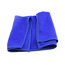 1 PC 30*30 CM blue Microfiber car cleaning towel cloth duster tools car washer auto supplies accessories products