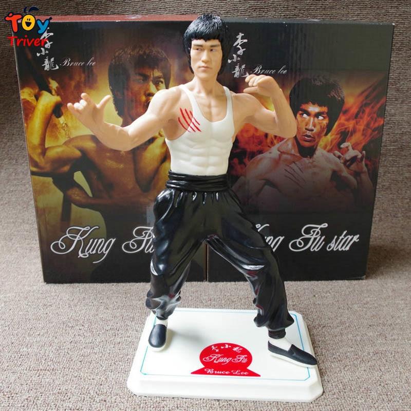 28cm Bruce Lee Kung fu Master Li Xiaolong PVC Action Figure Model Doll Toy Birthday Christmas Gift for Man Boyfriend Triver<br><br>Aliexpress