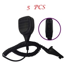 5PCS(forP8268)Waterproof Microphone Handled Speaker for Motorola walkie talkie for APX2000 APX7500 DGP4150 DP3400 DP3401 MTP850S