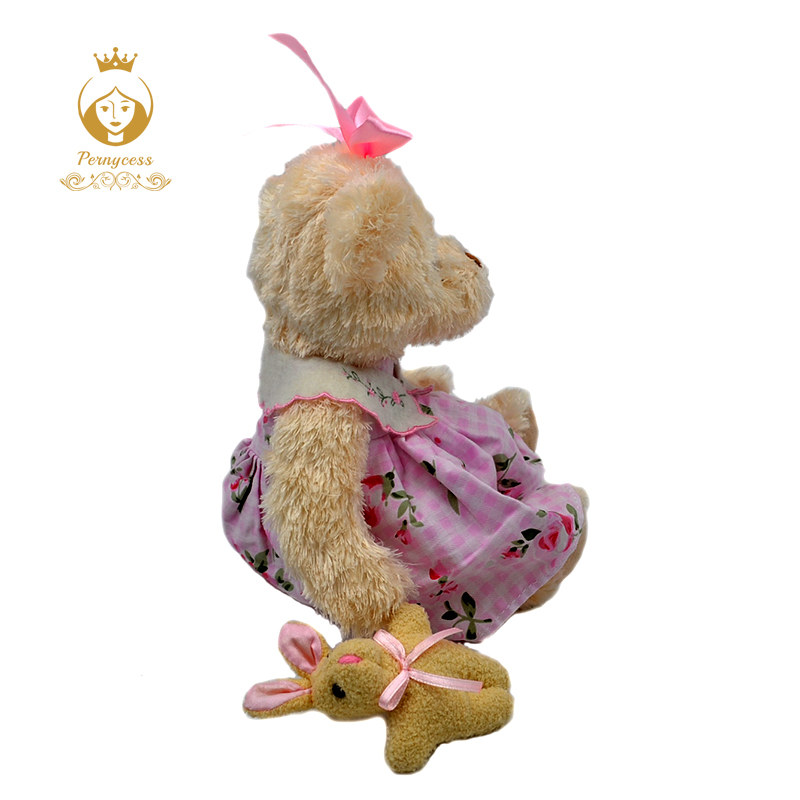 2-1PCS-30CM-wear-skirts-sweet-teddy-bear-plush-toys-cute-teddy-bear-soft-plush-dolls-baby