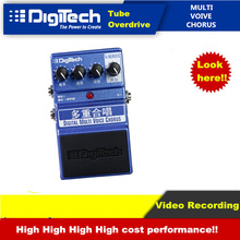Electric Guitar Effects X-Series Digitech Multi Voice Chorus Video RecordingHigh Cost Performance Overdrive Distortion