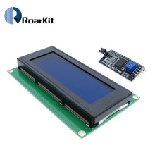 2004 20x4 2004A blue screen HD44780 for arduino Character LCD /w IIC/I2C Serial Interface Adapter Module(China)