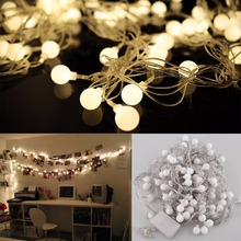 100M 600 LED Matte Globes Merry Ball Fairy String Lights Lamps Bulbs Wedding Party Christmas Garden Outdoor Indoor Decoration