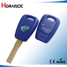 Horande 1 Button Uncut Blade Remote Key Shell for Fiat Stilo Punto Seicento Flip Fob NO Chip Keyless Entry Car Key Case