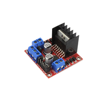 Smart Electronics L298N Stepper DC Motor Driver Shield Expansion Development Board for arduino DIY KIT