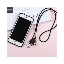 HOCO Neck Strap Nylon Silicone Lanyard Cute Fairy of Bull Mobile Phone Straps for Smartphone Xiaomi Huawei Lenovo Asus Lanyards(China)