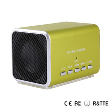 Music Angel Original JH-MD05 promotion cardboard speaker usb flash drive Support to read memory card