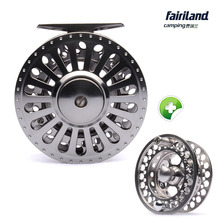 70 80 90 100mm 3BB fly fishing reel Combo Aluminum fly reel 1/2 3/4 5/6 7/8 fish reel with Spare Spool Left Right hand  2 styles