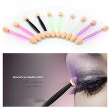 New Nail Brush Beauty Accessories 7.5cm colorful 20pcs/bag Painting Nail Art Brush Nail Brush Eye shadow brush(China)