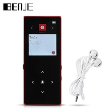 Original BENJIE K8 Bluetooth Version 8GB 1.8 inch OLED Screen Digital MP3 Music Player with FM Radio E-book Recording Functions(China)