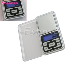 New 500g 0.1g Digital Pocket Scale Jewelry Precision Weight Electronic Balance G08 Drop ship(China)