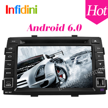 4G Android 6.0 quad core for kia Sorento 2009 2010 2011 2012 car dvd player gps navigation headunit  car radio video player gps