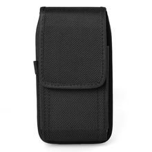 FSSOBOTLUN Outdoors Sport Nylon Bag Wallet Pouch with Hook Carabiner Belt Clip Holster Cover Case For HOMTOM HT7/HT7 PRO