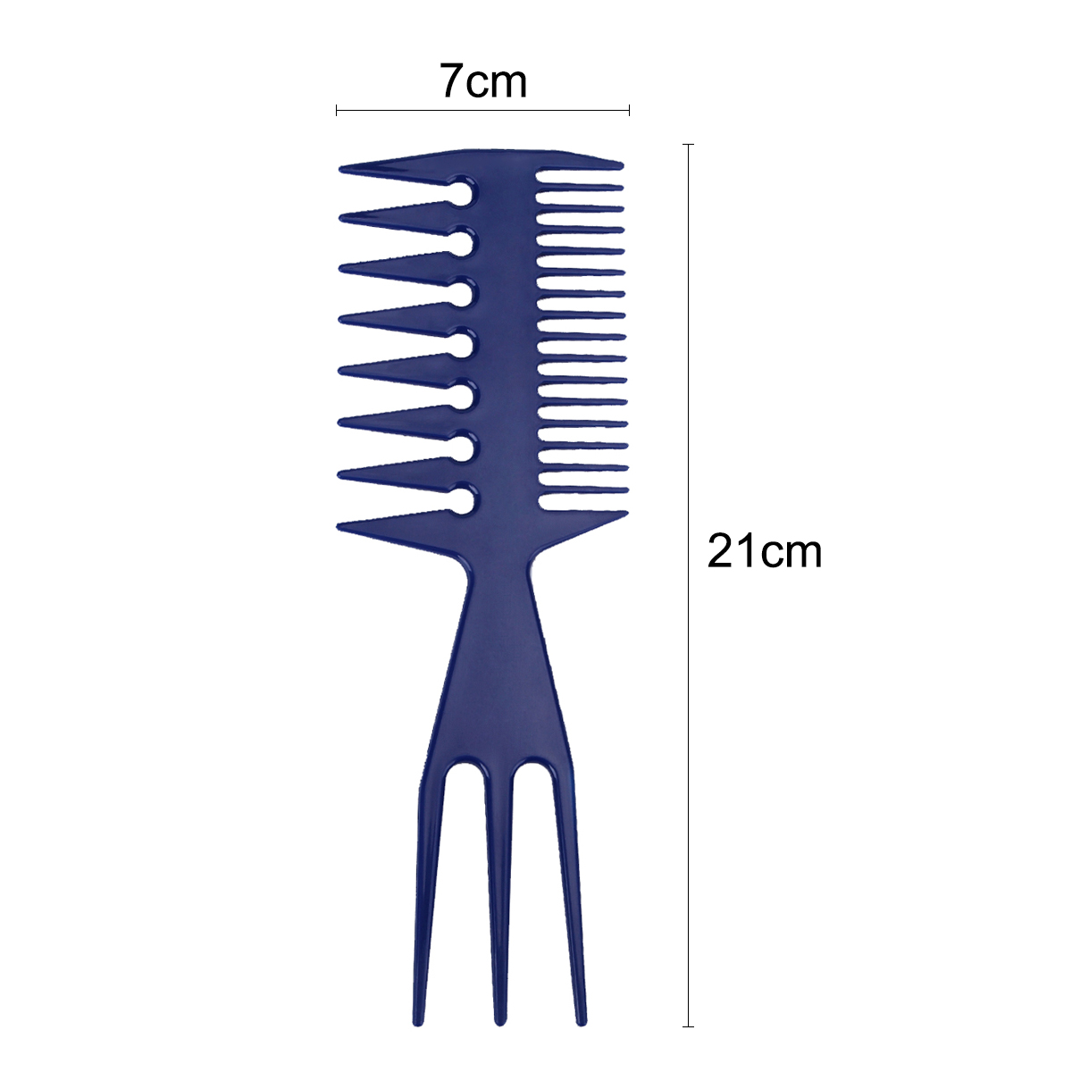 Hair Care & Styling Combs Professional Fish Bone Shape Comb Brushes Magic Unique Salon Hair Dyeing Sectioning Combs Women Hair Dyeing Styling Comb Tools