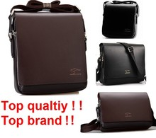 2016 Rushed Zipper Handbags Men Messenger Bags, Big Promotion Kangaroo PU Leather Shoulder Bag Man Briefcase MBG2