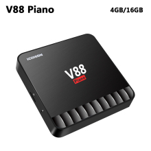 Buy V88 Piano 4GB DDR3 16GB ROM Android 7.1 TV Box RK3328 Quad Core Wifi 4K HD Smart Set Top Box USB 3.0 Media Player PK X96 mini for $18.83 in AliExpress store