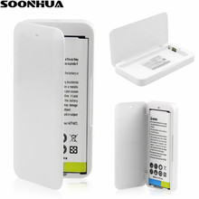 Exquisite Exterior Design Portable Pocket White Battery Backup Power Charger Dock For Samsung Galaxy Note 4 IV N9100 USB Charger(China)