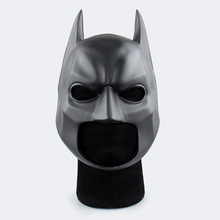 Batman Soft Helmet Action Figure 1/1 scale painted figure Cosplay Batman Soft Helmet To Children Doll PVC ACGN figure Toy 21CM