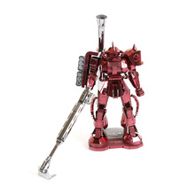 Gundam Robot Model 3D laser cutting Jigsaw puzzle DIY Assembled Metal model Nano Puzzle Kids Educational Puzzles Toys for adult