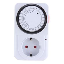 Mechanical Electrical Plug Program Timer Power Switch Energy Saver 24 Hour Electrical Sockets(China)